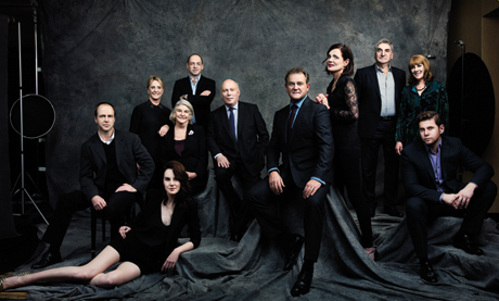 How I Got That Shot A Downton Abbey Group Portrait In
