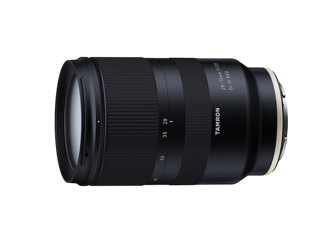 Tamron Launches 28-75mm f/2.8 Lens for Sony Full Frame Mirrorless