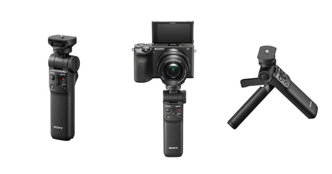 The Sony GP-VPT2BT Shooting Grip 3