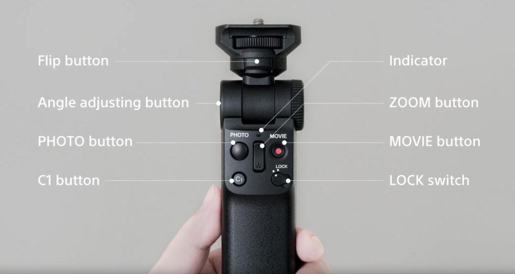 The Sony GP-VPT2BT Shooting Grip 2